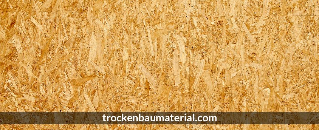 Dämmung für Lederhose - Trockenbaumaterial.com: Trockenbau, Profile