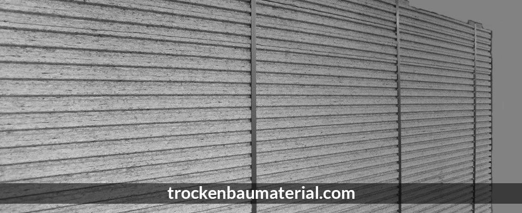 Dämmung Weida - Trockenbaumaterial.com: Trockenbau, Profile
